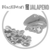 Black Bean & Jalapeno